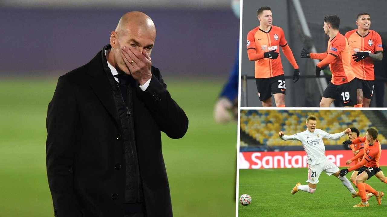 Zinedine Zidane Real Madrid Shakhtar Donetsk GFX