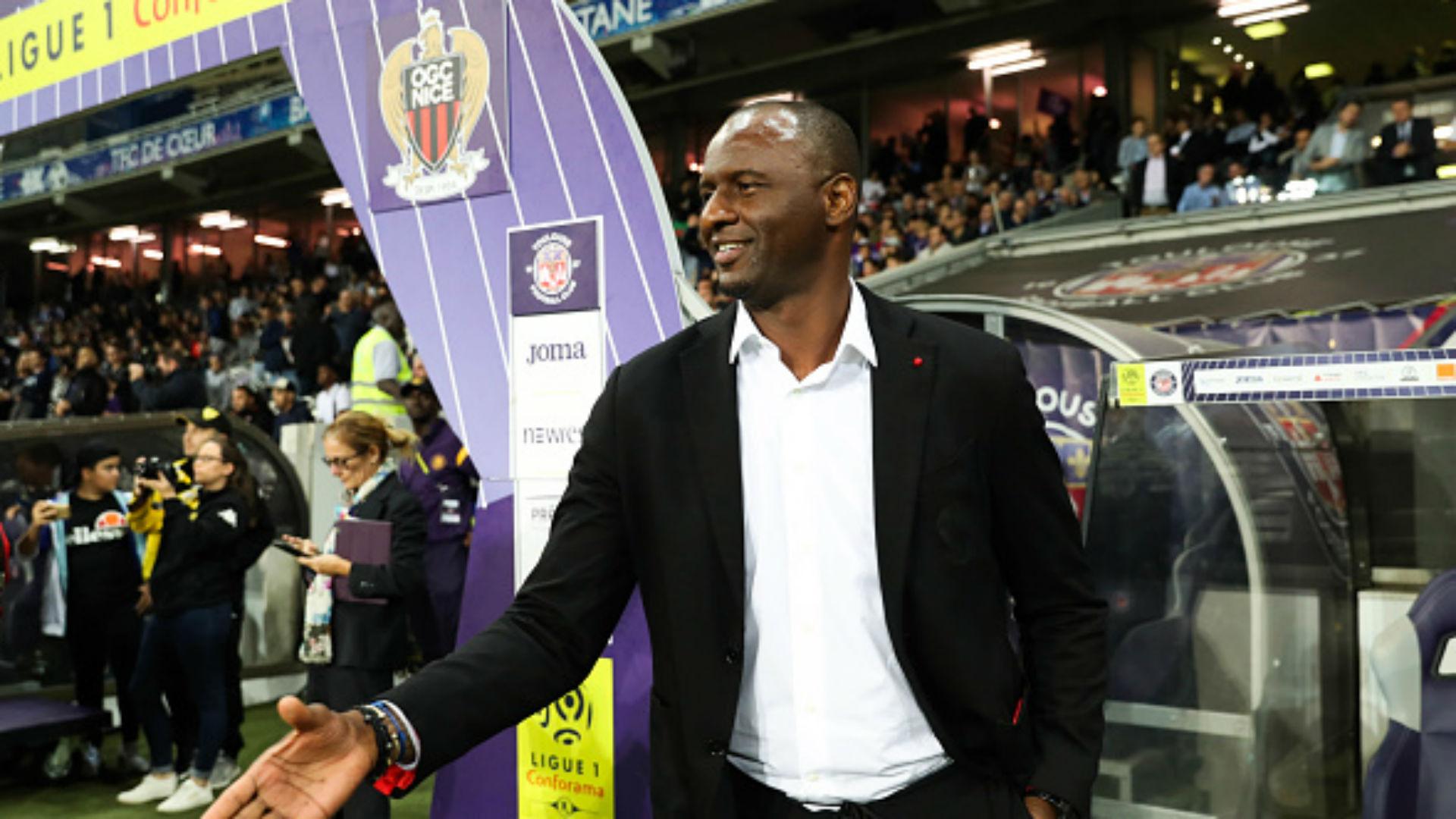 Rivère veut garder Vieira sur le long terme — Nice