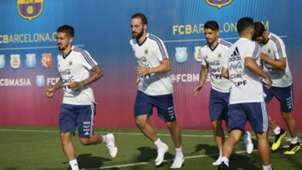 Argentina entrenamiento Barcelona 01062018