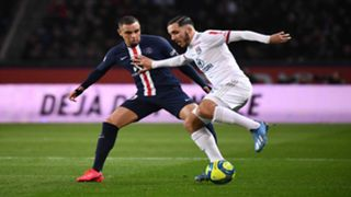 Ryan Cherki Layvin Kurzawa PSG Lyon Ligue 1 09022020