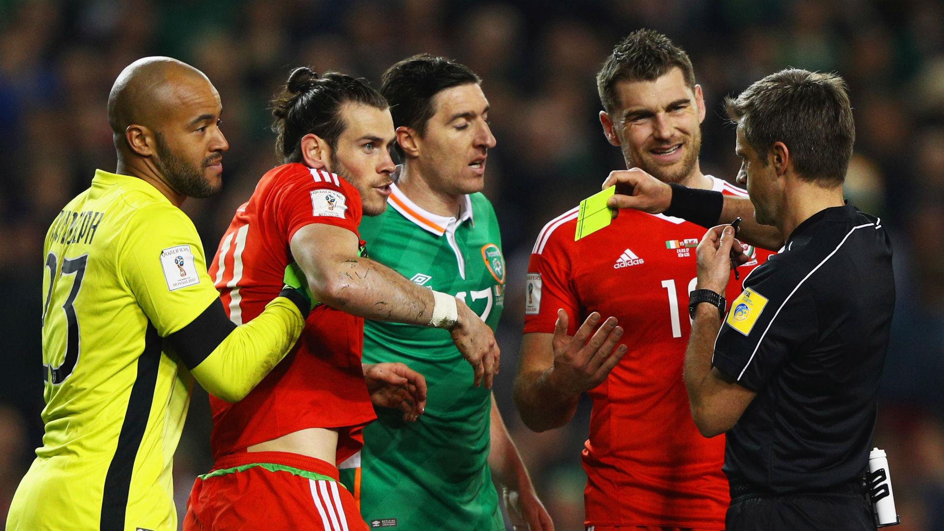 Darren Randolph John O'Shea Gareth Bale Republic of Ireland Wales 24032017