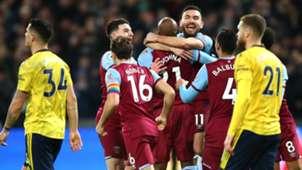 West Ham Arsenal 2019