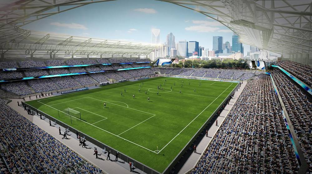 MLS Expansion Charlotte Stadium image