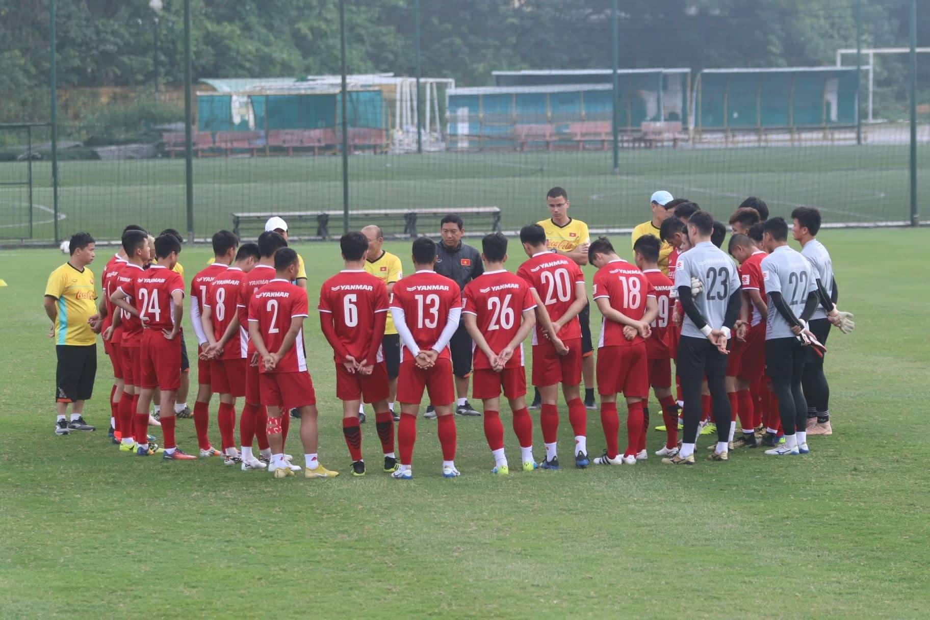 Vietnam training Asian Cup 2019 (3)