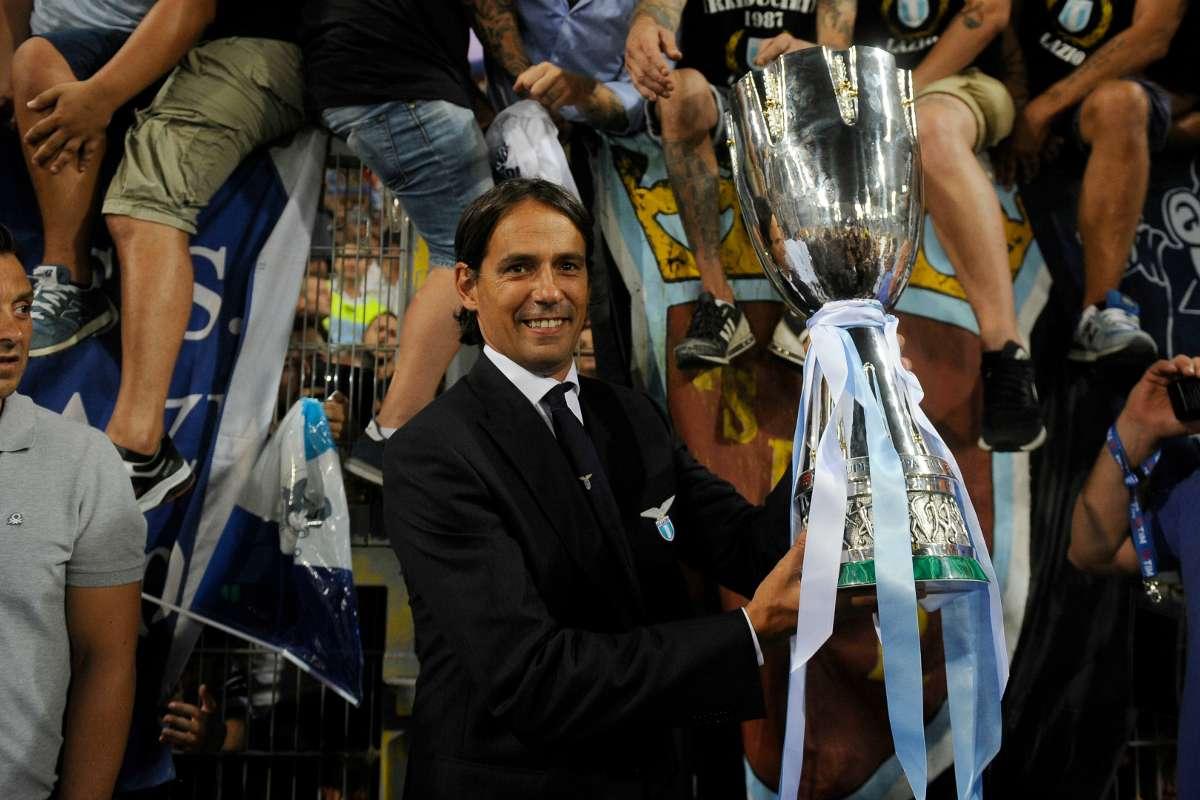 """La Lazio solleva la Supercoppa, Inzaghi esulta: """"Giustizia è fatta""""    Goal.com"""