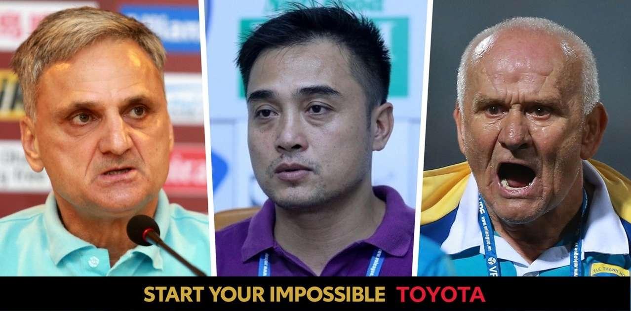 Ljupko Petrovic vs Nguyen Duc Thang vs Marian Mihail   Thanh Hoa's Head Coach   Toyota Only