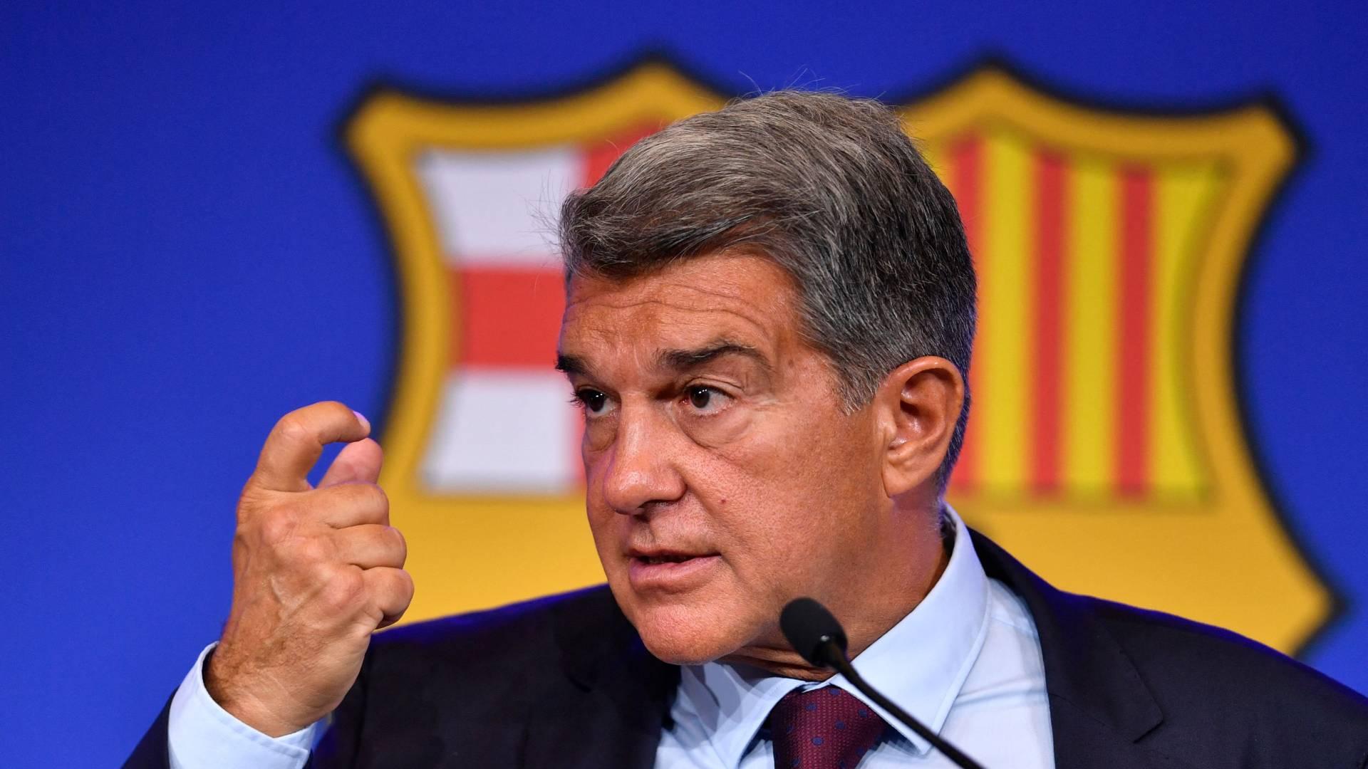 'An exercise in despair' – Barcelona president Laporta slams predecessor Bartomeu over €1.35bn debt