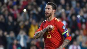 Sergio Ramos Spain Norward Euro 2020 qualifying 2019
