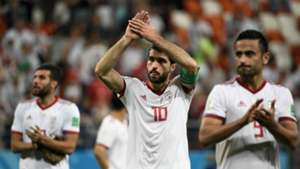 Iran players vs Portugal World Cup