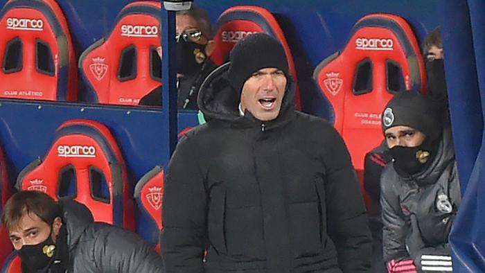 Zidane Osasuna Real Madrid