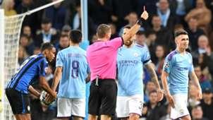 Phil Foden red card vs Atalanta, Man City