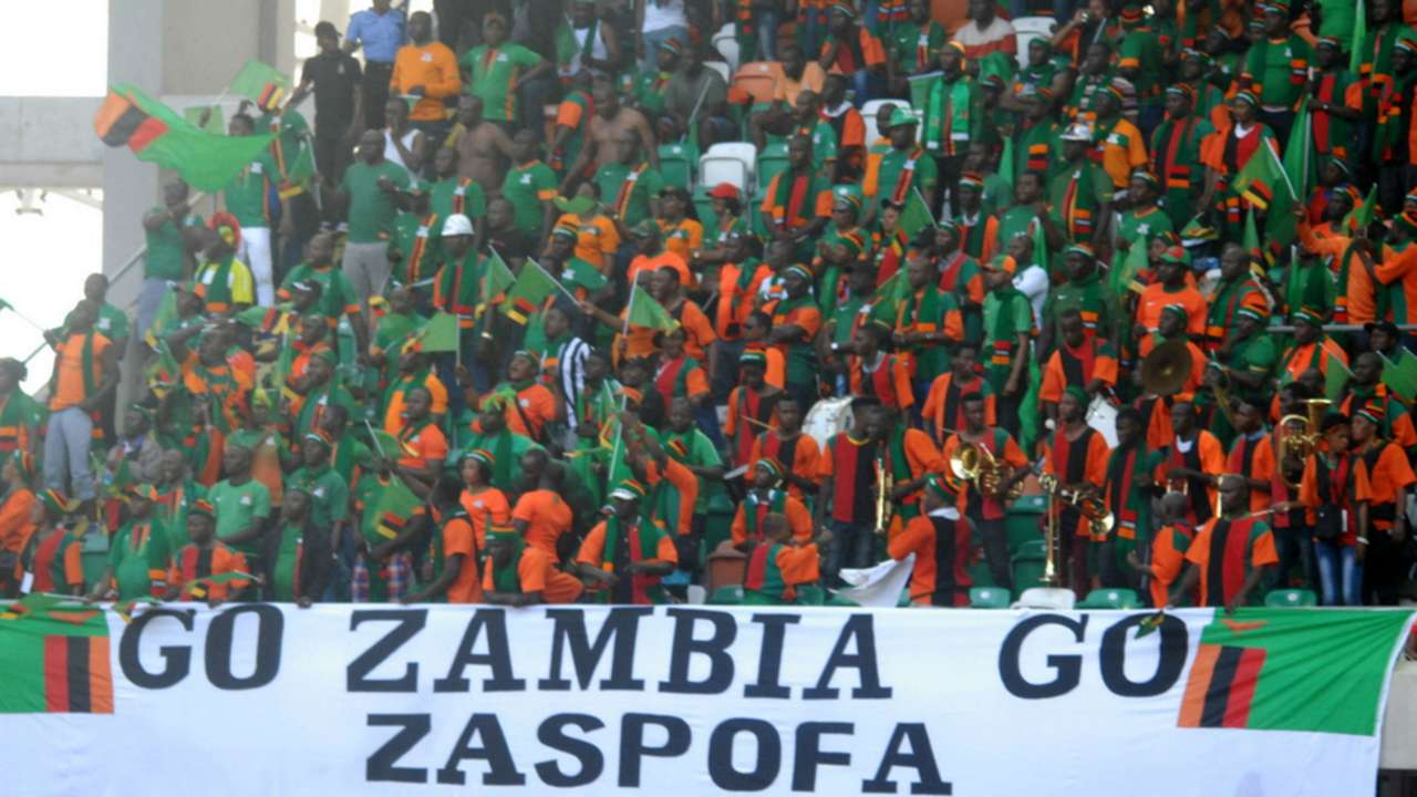 Zambia fans
