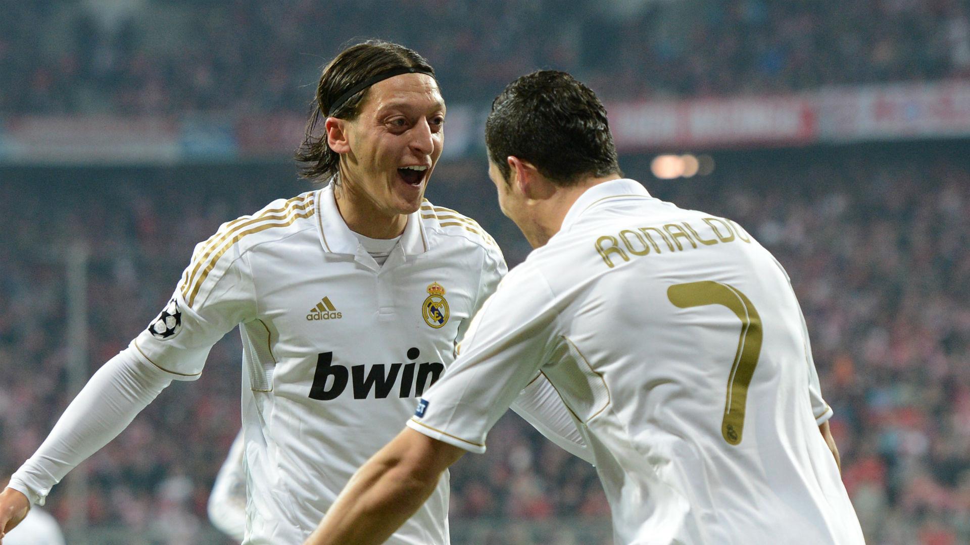 Özil in Real Madrid