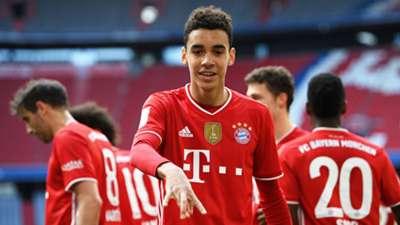 Jamal Musiala Bayern 2020-21