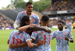 Manchester United Vs Wolverhampton; Raphael Varane Debut