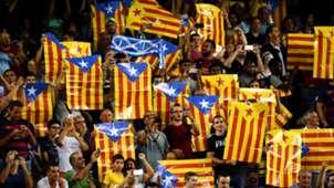 Catalonian Flag Barcelona Celtic 091316