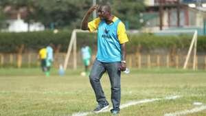 Tusker FC coach Robert Matano.