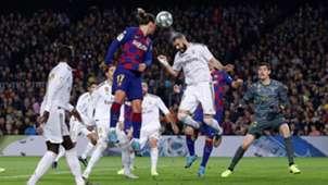 Antoine Griezmann Karim Benzema Barcelona Real Madrid El Clásico LaLiga 18122019