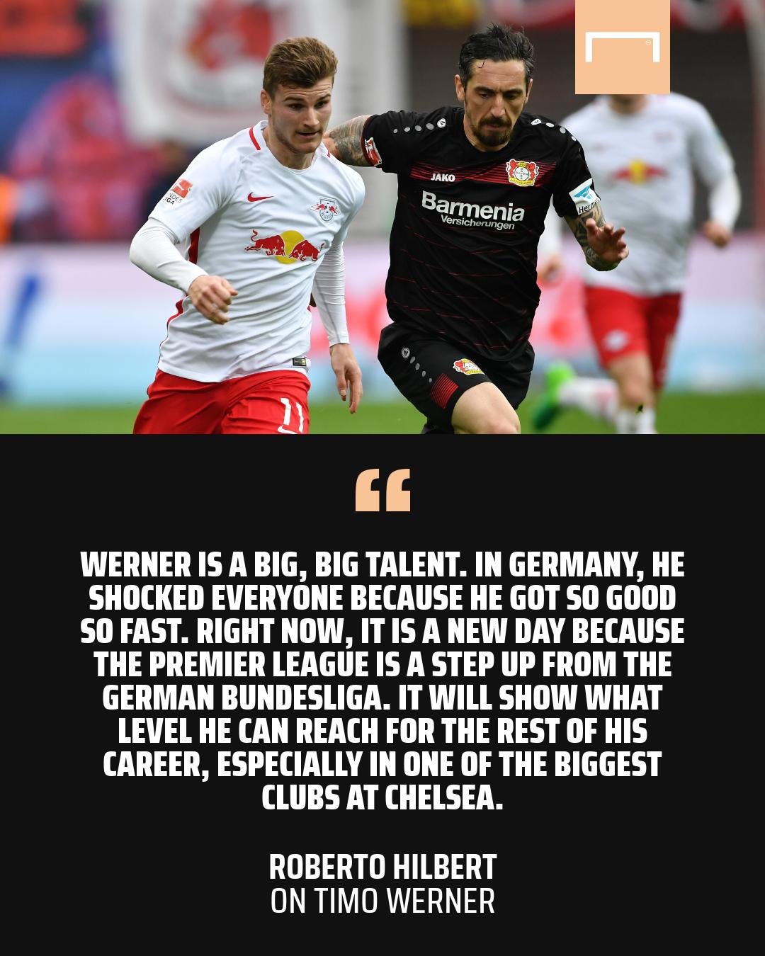 'Part Ozil and part Ballack' Havertz can win Premier League for Chelsea, says Hilbert