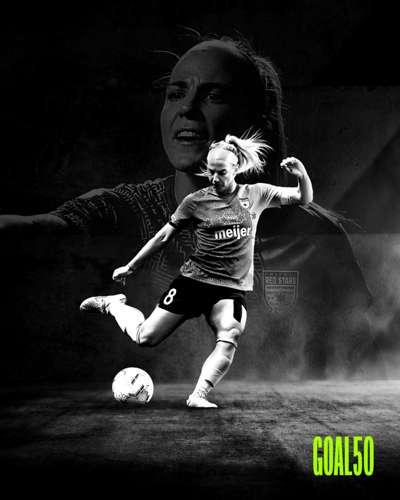 Julie Ertz Goal 50
