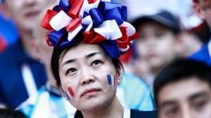 美女サポワールドカップ_フランスvsアルゼンチン_フランス2