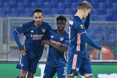 โอบาเมยองหมูหก! อาร์เซนอลเจ๊าเบนฟิก้า 1-1 น็อคเอาท์ยูโรป้ายกแรก | Goal.com