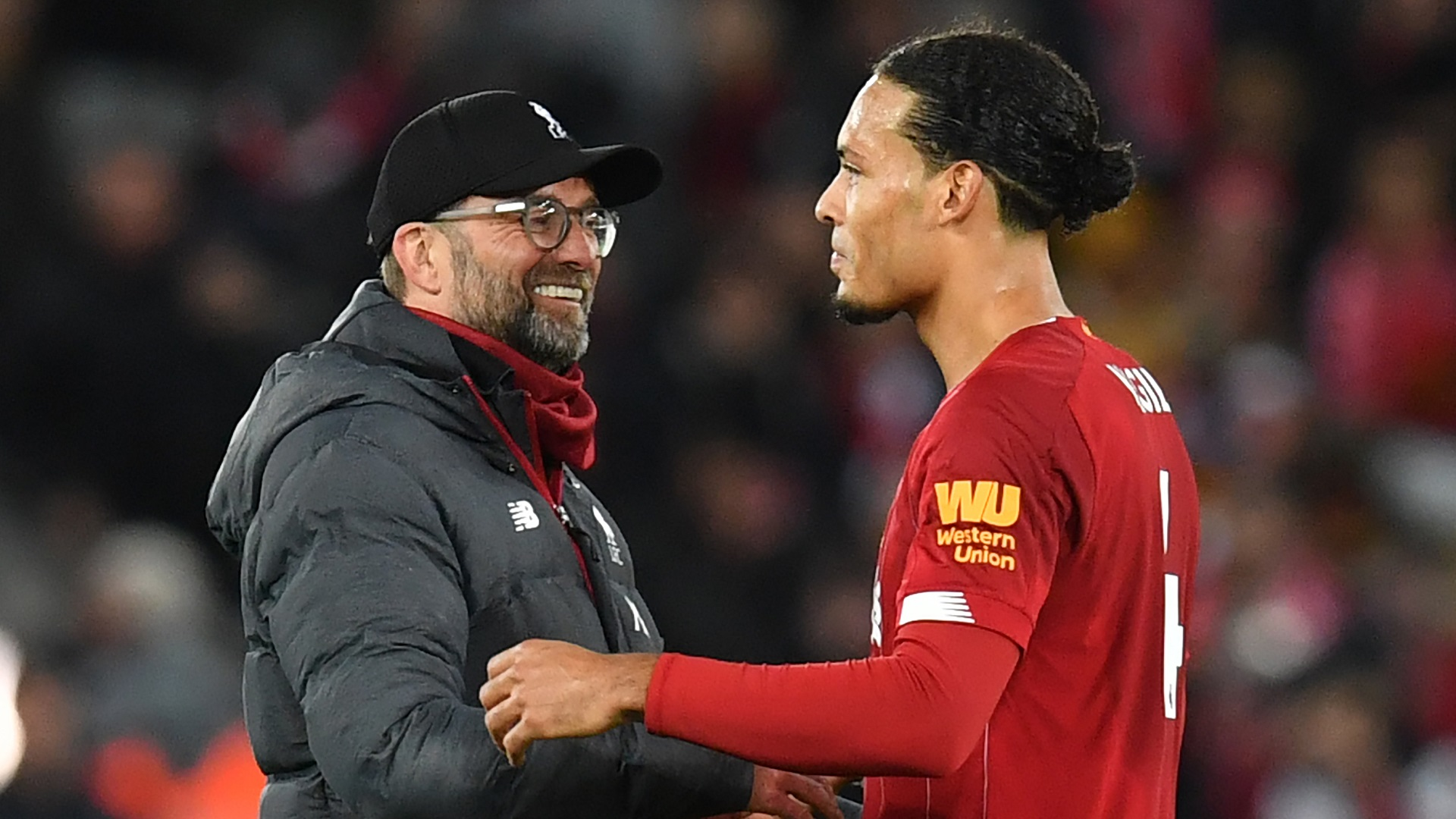 'Van Dijk & Klopp are the best in the world' – Robertson salutes leaders at Liverpool