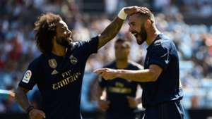 Benzema Marcelo Celta Real Madrid LaLiga
