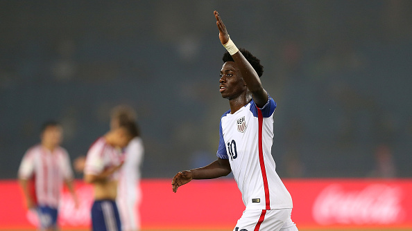 Tim Weah USA U17