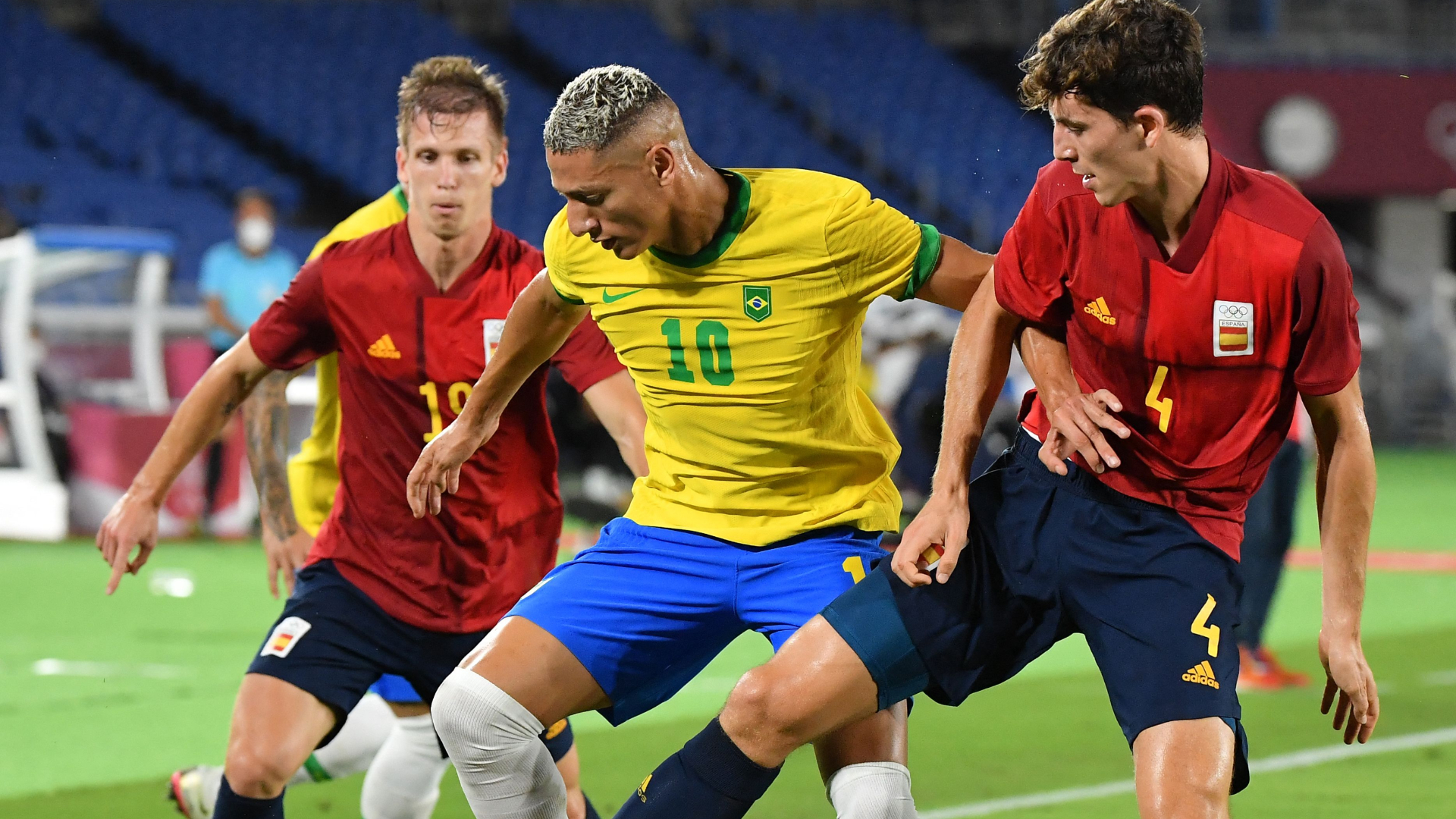 Tokyo 2020: Brazil beat Spain to become fifth team to win back-to-back gold medals in Olympics men's football