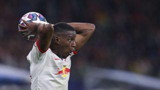 Leipzig's French defender Nordi Mukiele