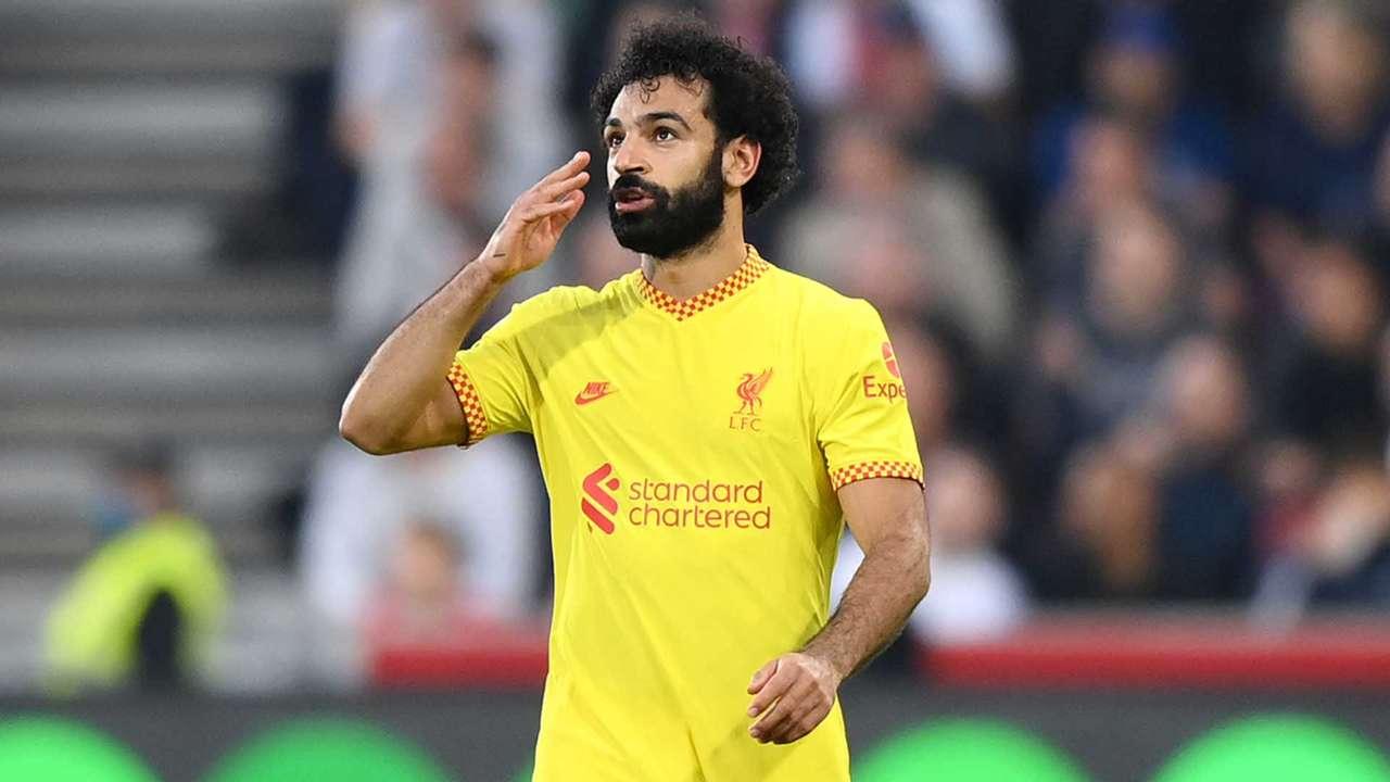 Mohamed Salah Liverpool 2021-22