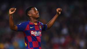 Ansu Fati Barcelona Valencia LaLiga 14092019