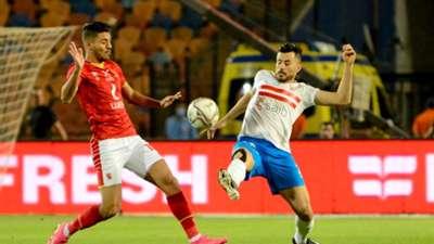 Mohamed Sherif - mahmoud hamdy el wensh - zamalek - ahly 10-5-2021