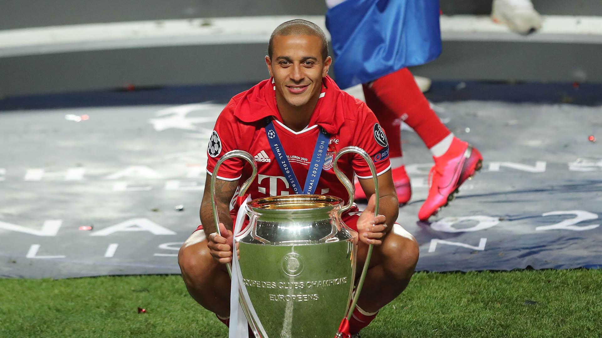 Liverpool set to complete Thiago Alcantara swoop