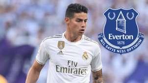 GFX James Rodriguez Everton