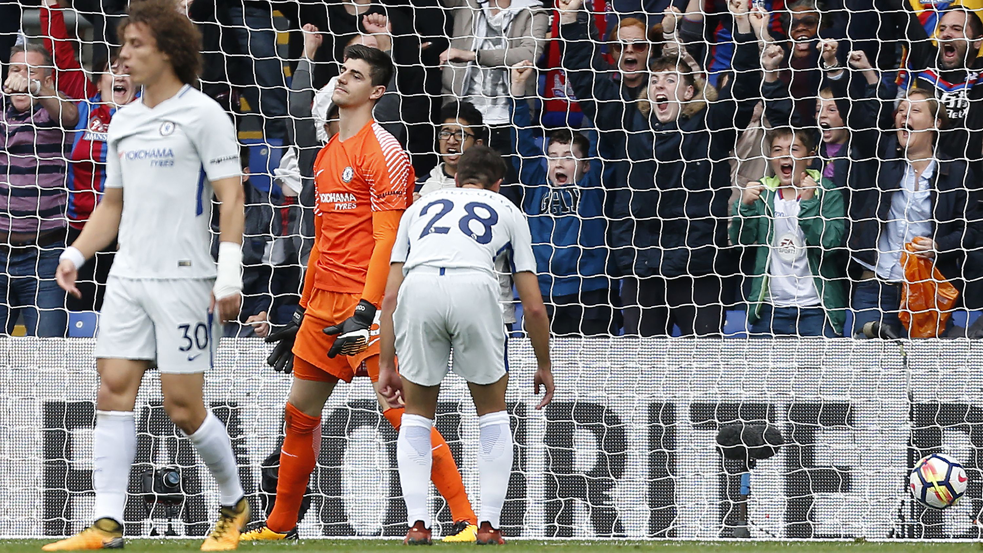 Courtois Chelsea Crystal Palace