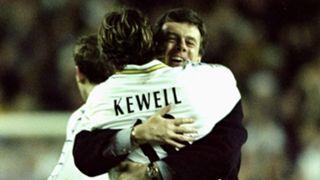 Harry Kewell David O'Leary Leeds United 1999-00
