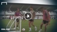 GFX Ronaldo Training