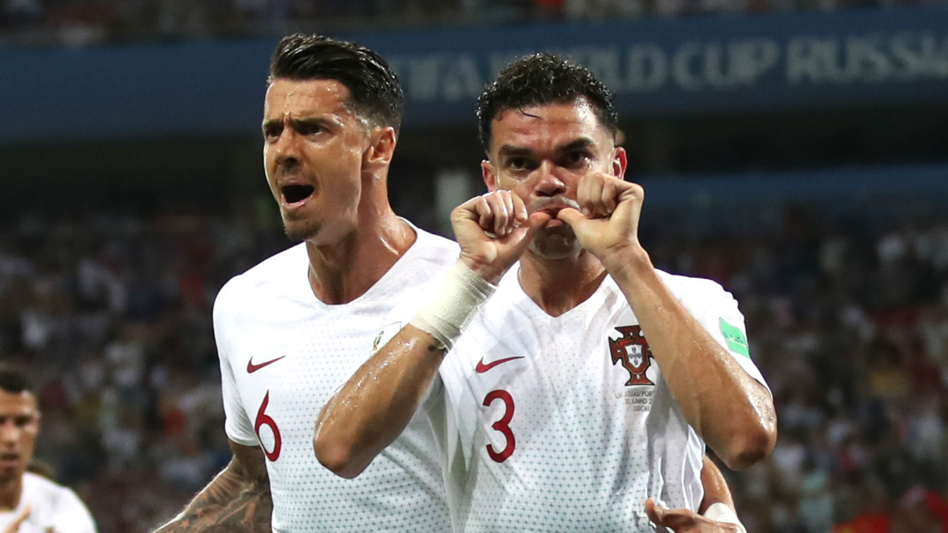 Pepe Jose Fonte Portugal Uruguay World Cup