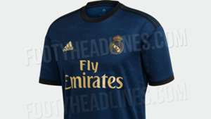 Real Madrid Away Kit Shirt 2019 2020