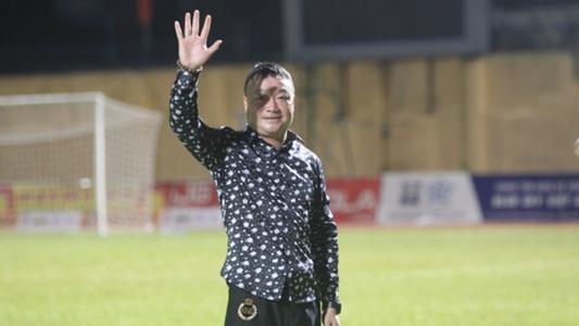 HLV Trương Việt Hoàng viết tâm thư chia tay Hải Phòng   Goal.com