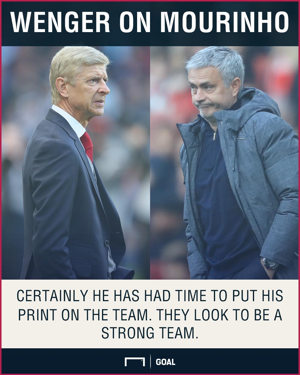 Arsene Wenger Jose Mourinho moulded Manchester United