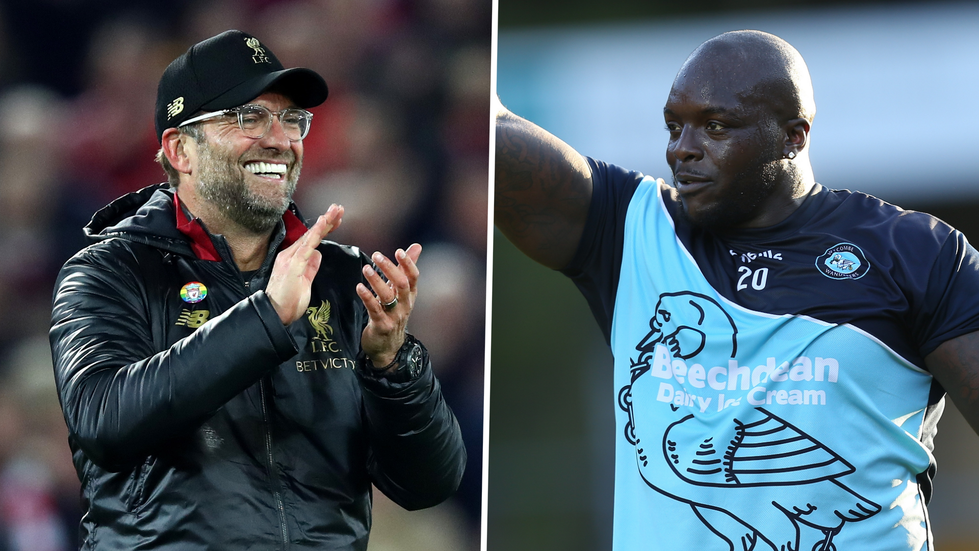 Klopp contacts Akinfenwa on WhatsApp to celebrate Wycombe's Champioship promotion