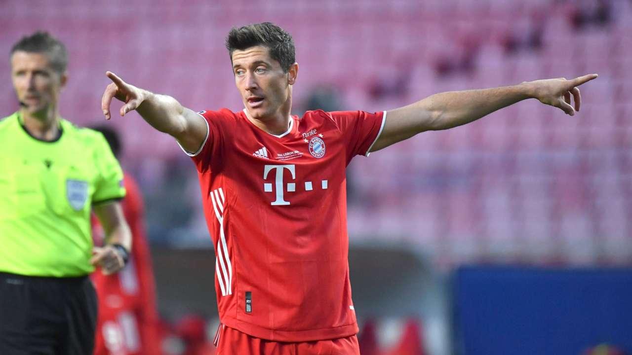 ONLY GERMANY Robert Lewandowski Champions League