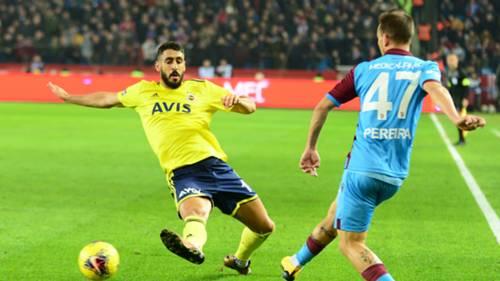 Tolga Cigerci Trabzonspor v Fenerbahce 02012020