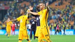 Gustavo Paez and Joseph Molangoane - Kaizer Chiefs.