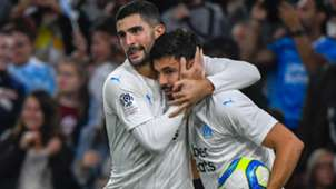 Morgan Sanson Alvaro Gonzalez Marseille Lille Ligue 1 02112019