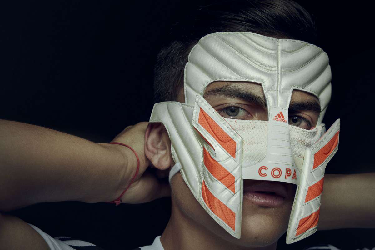 ingresos tapa parrilla  Striking Paulo Dybala mask made out of adidas' Copa 19 unveiled | Goal.com