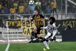 PAOK AEK Greek Super League